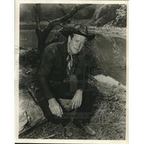 "1855 Press Photo Dan Duryea, in ""Nailed Down"" - Jane Wyman's Fireside Theater"