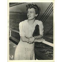 1941 Press Photo Josephine Porter Winter US ambulance driver named as spy