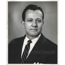 1957 Press Photo Charles Grisham, Manager of WABT, WAPI - abna36353