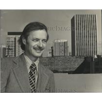 1974 Press Photo Paul Mayer, Birmingham Metropolitan Development Board