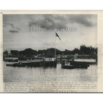 1951 Press Photo Tenth anniversary of the bombing of Pearl Harbor in Honolulu