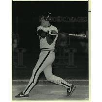 1986 Press Photo High school baseball player Scott Bryant in action - sas10339