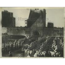 1934 Press Photo Funeral of late President Paul Von Hindenburg of Germany.