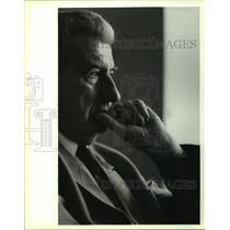 Press Photo Kiro Glingorov, president of Macedonia at Sheraton Hotel