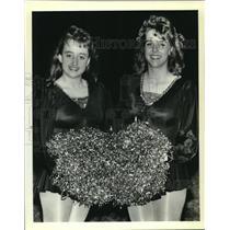 1988 Press Photo Salmen High Spartanettes will perform for Bermuda government