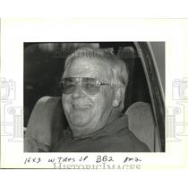 1994 Press Photo Mr. L.J. Chauvin, Owner of U.S. Recycling, Inc. in Louisiana