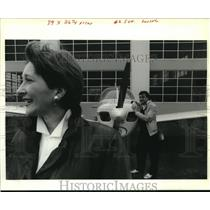 1990 Press Photo Power couple Beverly & Dominique Gianna at Lakefront Airport