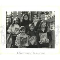 1993 Press Photo Winners of Heath Art contest sponsored by Heath Reading Series