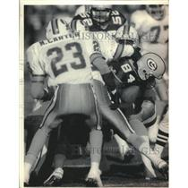 1992 Press Photo Sterling Sharpe caught nine passes against the Tampa Bay Bucs.