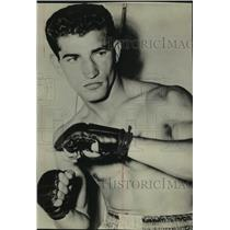 1956 Press Photo Duk Goldstien, Boxer - sas11414