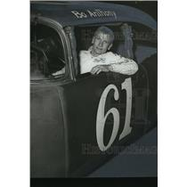1971 Press Photo Bo Anthony is his race car - abns06553