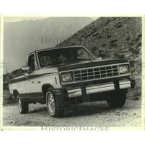 1980 Press Photo Ford's Ranger pickup is a competitive eye opener and popular.