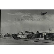 1955 Press Photo Plane fly's over Morocco - tua10966