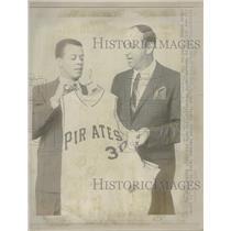 1967 Press Photo Maury Wills Third Baseman Pirates - RRQ38353