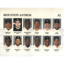 Press Photo Houston Astros Hampton Michael Hartgraves - RRQ38719