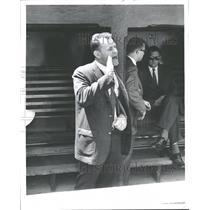 1961 Press Photo Detroit Tigers Injured Player Boros - RRQ39893