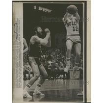 1974 Press Photo Steven Patterson Basketball Adelman - RRQ40423