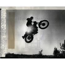 1973 Press Photo KEN KUNZE MINNEAPOLIS MOTORCYCLE - RRQ44425