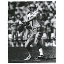 Press Photo Dave Krieg Seattle Seahawks football player - RRQ45897