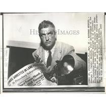 1955 Press Photo Casey Stengel New York Yankees manager - RRQ46775