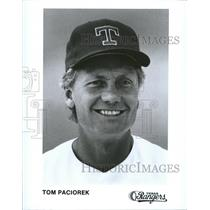 Press Photo Tom Paciorek Outfielder Texas Rangers - RRQ48079