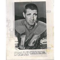1965 Press Photo Quarterback Earl Morrall Detroit Lions - RRQ48217
