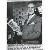 1962 Press Photo Clark Shaughnesay Chicago Bears coach - RRQ48585