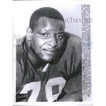 1966 Press Photo Football St. Louis Cardinals Luke Owen - RRQ48653