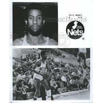1979 Press Photo New Jersey Nets Guard Eric Money - RRQ48963