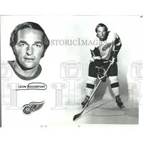 1972 Press Photo Detroit Red Wings Player Rochefort - RRQ50227