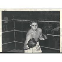 1938 Press Photo Allard C Y O Boxing Cathedral Gym - RRQ50273