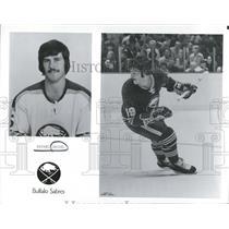 1974 Press Photo Buffalo Sabres Roster Michael Deziel - RRQ50477