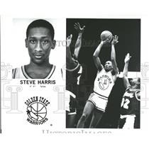 Press Photo Steve Harris NBA GuardGolden State Warriors - RRQ52031