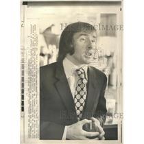 1970 Press Photo Treacherous Edge World racing champion - RRQ52689