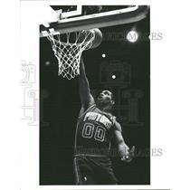 Press Photo Campbell making a dunk at goal - RRQ53373