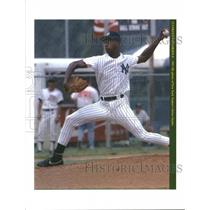 Press Photo Brien Taylor Pitcher New York Yankees - RRQ53481