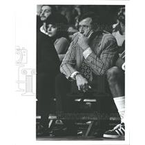 1973 Press Photo John Richard Dick Motta NBA Coach - RRQ53667