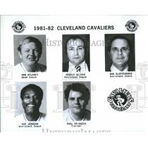 Press Photo Cleveland Cavaliers Don Delaney Gerald - RRQ59879