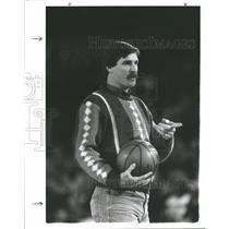 1985 Press Photo Jack Morris In Charity BB Tournament - RRQ60495