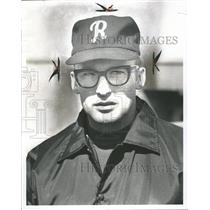 1971 Press Photo Baseball Coach Bob Atkins - RRQ60563