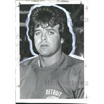 1981 Press Photo Donald Walter Murdoch Detroit Red Wing - RRQ60851