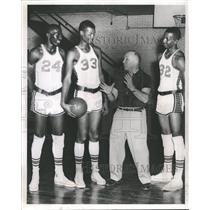 1968 Press Photo Crane Tech Coach Sid Novak. - RRQ61259