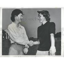 1948 Press Photo Grace Lenczyk Golfer - RRQ37617