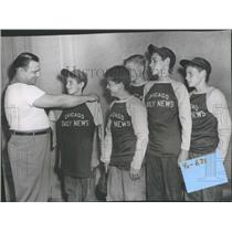 1948 Press Photo Bassemer Park South Chicago Coach Pete - RRQ37851