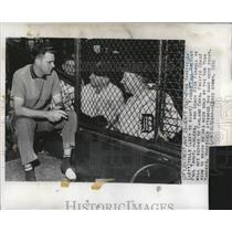 1950 Press Photo Wakefield Refuses Oakland Oaks Sell - RRQ34285
