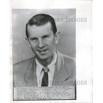1951 Press Photo Dale Barnstable Basketball Bribe - RRQ17011