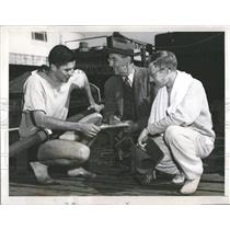 1951 Press Photo Oakland Carroll California Ebright - RRQ66027