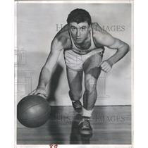 1952 Press Photo Ken Leslie Oakland Atlas Basketball - RRQ67865