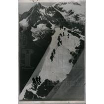 1957 Press Photo Claudio Corti Eiger Mountain Alpine - RRQ44013