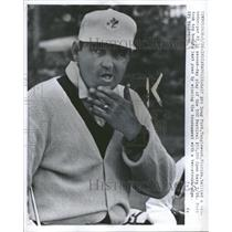 1961 Press Photo Golfer Doug Ford - RRQ11659